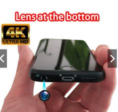TThe rear camera of the iPhone 6s mobile phone is modified to the bottom earphone hole, which does not affect the function and use of the phone. With the related black screen video software, it can hide photography in 4k high definition, and the most clear and portable spy photos in 2021. Hidden Spy Camera, Black Screen, 4k Hd, High Definition, Software, Lens, Iphone, Store, Photos