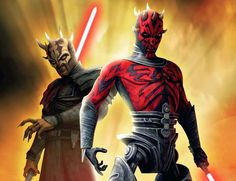 Clone Wars - Darth Maul and Savage Opress