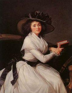 Madame Chartre by Elizabeth Vigee le Brun, ca. 1785