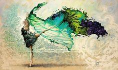 Karina Llergo Salto   Dance through the color of Life