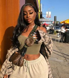 Body Wave 360 Lace Frontal Human Hair Wigs With Baby Hair Source by arabellahair outfits black girl Black Girl Fashion, Look Fashion, Fashion Outfits, Black Girl Style, Men Fashion, Black Girl Swag, Pretty Black Girls, Ladies Fashion, Fashion Tips