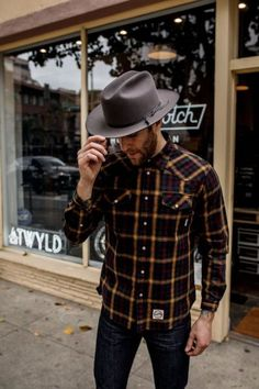 Outfits With Hats, Casual Outfits, Stetson Open Road, Stylish Men, Men Casual, Smart Casual, Hats For Men, Hat Men, Mens Boots Fashion