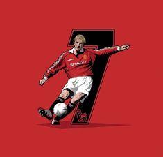 Football Tattoo, Football Art, Football Players, David Beckham Manchester United, Manchester United Legends, Manchester United Wallpaper, Joker Hd Wallpaper, Messi And Ronaldo, English Premier League