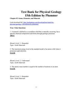 Download test bank for clinical manifestations assessment of download test bank for physical geology 15th edition by plummer fandeluxe Images