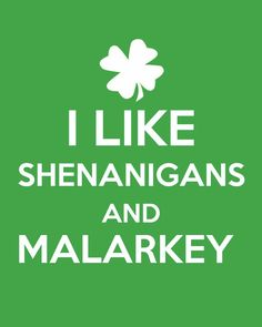 That's a bunch of Blarney…or at least this blog is. :)