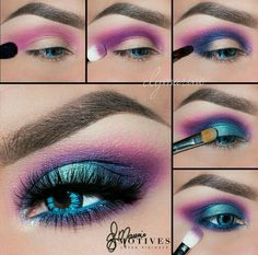 Rock this colorful look for summer with the Motives Dynasty palette