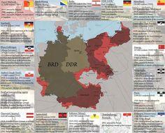 Alemania: territorios anexionados y perdidos en el transcurso del Siglo XX