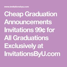 274 best graduation announcements invitations images on pinterest cheap graduation announcements invitations 99 for all graduations exclusively at invitationsbyu filmwisefo