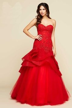 US 188.99 Wholesale 2016 Prom Dress Red Evening Dress mual BALL GOWNS STYLE  48422H from - 4aa6cb4c2ad6