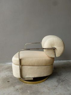 Rare milo baughman thayer coggin lounge rocking chair not found anywhere - Möbel - Furniture - Chair Design Art Deco Furniture, Home Furniture, Modern Furniture, Furniture Design, Painted Furniture, Console Design, Deco Design, Design Design, Vintage Chairs