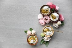 COCONUT CHIA PUDDING WITH PASSIONFRUIT – Eleanor Ozich