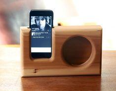 How to: Make a Simple Wooden Smartphone Speaker | Man Made DIY | Crafts for Men | Keywords: woodworking, workshop, diy, how-to #woodworkingtools
