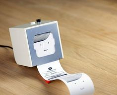 Little Printer, works with your smart phone