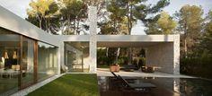 The El Bosque House by Ramon Esteve in Valencia, Spain is a stunning contemporary home in the forest. Enjoy!