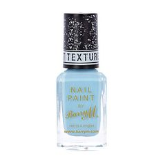 Light blue Barry M texture nail polish - beauty / fragrance - gifts - women