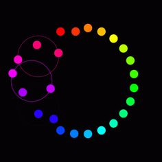 Circle #patterns colors and movement
