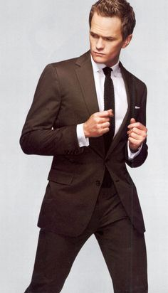Neil Patrick Harris.  He doesn't fit any of my categories, but I just adore him!