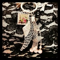 Check out this item in my Etsy shop https://www.etsy.com/listing/210531878/angel-wing-key-chain-with-paris-picture