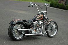 A nice clean bike...