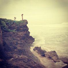 By the sea in #puertorico #eidon #eidonsurf #love #sea #photoshoot #surf #tiny #sky #waves #cliff #beautiful #girl #lifeisswell #livetravelsurf #more #instagood #instasurf #alldaylong @rnyles McGuinness @Darcy Hartleb-Mccrea O'Connor