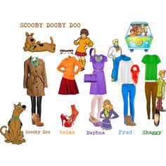 Scooby Doo Character Cosplay Halloween costume ideas!