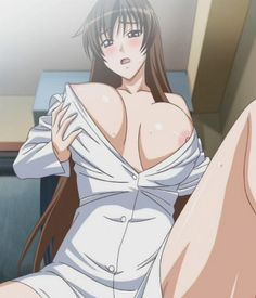 anime big boobs Naked girls with