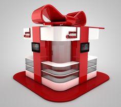 Canon Inmall Kiosk - Gift Box on Behance