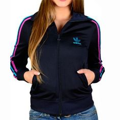 chaqueta adidas mujer retro