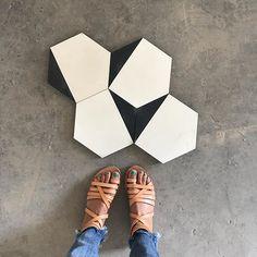 major factory inspo! // encaustic hex STRANDS #concretetiles #cementtiles #encaustictiles #hextiles #fromwhereistand #tiles #flooring #concretelove #concretecollaborative #ihavethisthingwithtiles #tileaddiction #hexagontiles #encaustic #moderndesign #modernconcrete #mottstconcreteshop #designerconcrete