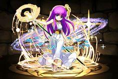 Saori (Atena)- Attack - versão chibi