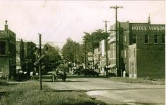 Beaver Dam in the horse and buggy days? Well, how about the horse and buggy sharing Main Street with cars. This downtown shot appears to be from the 20's or early 30's.