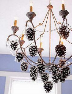 НАША СТРАНА МАСТЕРОВ: Эта мастерица знает, как сэкономить на новогоднем декоре и при этом превратить свой дом в сказку. Красота!