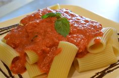 "Surprise your sweetheart with some Seduction ""Vodka Sauce"" & Pasta for a romantic Valentines dinner. Recipe here - http://www.mytexastoday.com/blog/Categories/mainBlog.php"