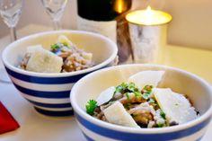Garlic Mushroom Cheat's Risotto
