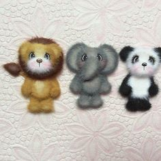 ELITE4U-Laura-MINI-LION-ELEPHANT-PANDA-Tear-BEAR-PROJECT-LIFE-Premade-Scrapbook