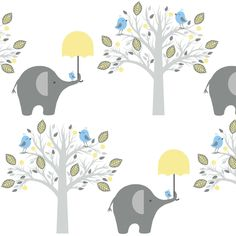 happy chat friends fabric by paragonstudios on Spoonflower - custom fabric