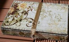 Altered cigar box (J.West creation)