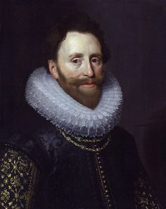 1620 - Mierevelt, Michiel van - Dudley Carleton, Viscount Dorchester, English Amsbassador to The Netherlands from 1616 to 1625 - Oil on panel