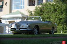 1955 Alfa Romeo 1900CSS Cabriolet by Ghia-Aigle.