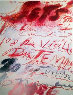 Cy Twombly - Cy Twombly, 1986, Print