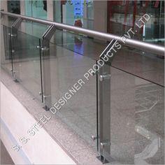 glass railings | Steel Glass Railing
