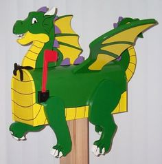 This one reminds me of a show my kids loved - Dragon Tales.