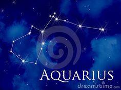 Aquarius da constelação
