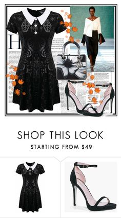 """""""Fashion-5"""" by fared17 ❤ liked on Polyvore featuring Hellessy, Killstar, Boohoo and Christian Dior"""