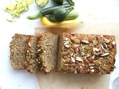 Gluten-Free Zucchini Bread: This flavorful bread offers a great way to bring any type of zucchini or squash into your breakfast routine
