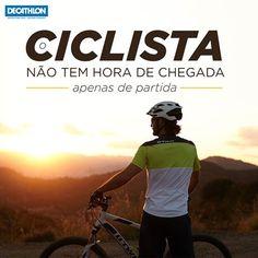 Ciclista não tem hora de chegada... apenas de partida! Frases Biker, Montain Bike, Bicycle Cards, Bike Tattoos, Bike Poster, New Motorcycles, Decathlon, Mtb, Mountain Biking