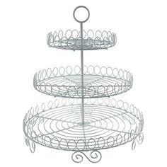 Round Metal Wire Cupcake Holder