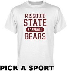 Customize this men's T-shirt with your #MSUBears team of choice and represent them at their next home event!