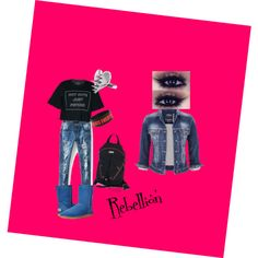 Rebellion by invisible325 on Polyvore featuring polyvore, fashion, style, maurices, UGG Australia, Gucci and LUSASUL