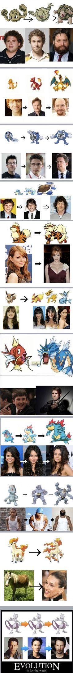 Celebrities and Pokemon